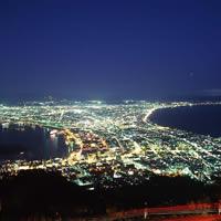 函館山山頂からの夜景